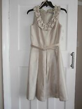 Eliza J BNWT wedding/christening/races occasion dress, champagne size 8