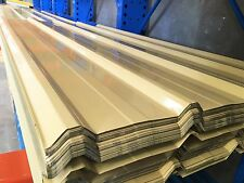 Roofing & Fencing Iron Sheets T-Deck Cream  $8.00 L/M
