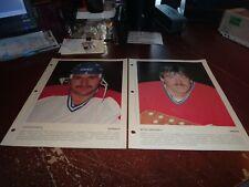 Hockey Derniere Heure Photo montreal canadiens lot of 23 1980-1981 nhl lafleur +