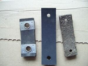 Austin/Morris/MG Universal Exhaust Mounting Rubber/Canvas Straps x3 Classic Car
