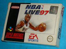 NBA Live 97 - Super Nintendo SNES Nintendo - PAL