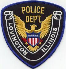 LEXINGTON ILLINOIS IL POLICE PATCH