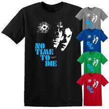 No Time To Die T Shirt James Bond 007 Daniel Craig Movie 2020 Kids Men Women Top