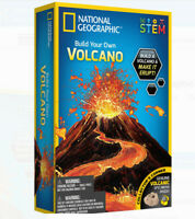 National Geographic Kids DIY Volcano STEM Science Game Learning Toy BOGO
