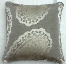 "Emperor Paisley cushion cover laura  Ashley  Fabric 16"" (piped)"