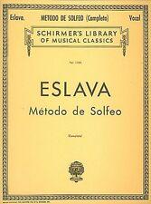 Metodo de Solfeo Complete Voice Technique Vocal Method NEW 050258770