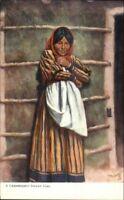 TUCK Native Indian Women Series 2437 - CHEMEHUEVI c1910 Postcard EXC COND