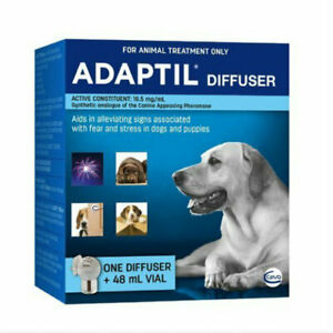 Adaptil Diffuser and Refill Set Calming Anxiety Diffuser and 48ml