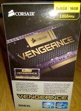 Corsair Vengeance 16GB (2x8GB) 1866MHz DDR3L Laptop RAM - CMSX16GX3M2C1866C11
