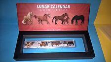 Lunar Calendar Series - 2014 Year of the Horse 1oz Rectangular Proof 4-Coin Set