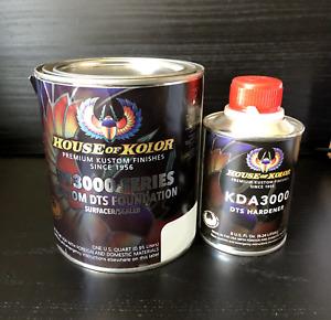 House of Kolor Primer Surfacer/Sealer Quart Kit Blue w hardener included