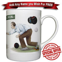 Bowls - Fine Bone China Mug + Personalized with any name added free of charge