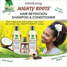 Organic Hair Growth Wash/Conditioner for thin, bald spots or receding hairlines