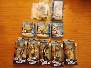 KOBE BRYANT McFarlane NBA Limited Championship Series Lakers Lot of 10 Figures