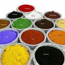 1kg Pigmentpulver Oxidfarbe Trockenfarbe Farbpigmente Farbe für Beton Putz Gips