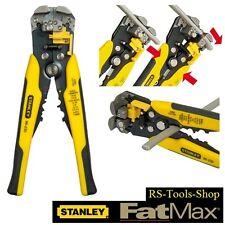 Stanley FatMax Automatische Abisolierzange Kabelschuh Presszange Seitenschneider