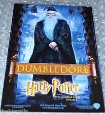 Harry Potter DUMBLEDORE Cinema Promo Postcard Philosopher's Stone