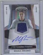 10-11 Certified Magnus Paajarvi Auto Jersey Patch Rookie Card RC #193 141/499
