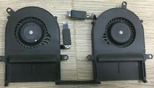 "Genuine Macbook Pro Retina 13"" A1425 2012 CPU Cooler Left & Righ Fans set"