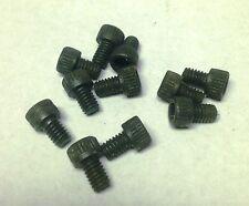 12  Mil-spec Black #8 SOCKET HEAD Screws Made in USA