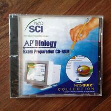 NeoSci AP Biology Exam Preparation CD-Rom Brand New