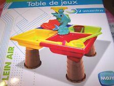 table de jeux plein air - enfant - NEUF
