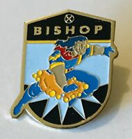 Bishop Cleaning Brand Advertising Pin Badge Rare Vintage (H5)