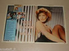 ORNELLA VANONI clipping articolo fotografia 1983 AT27 TUTTI I SUOI UOMINI