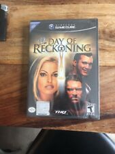 Nitendo Gamecube Day Of Reckoning /Version Us /neuf/new And Sealed