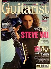GUITARIST MAGAZINE March 2005 Slash Dean Epiphone Fender Mesa JJ Variax Bass