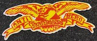 Anti Hero Skateboards Sticker Yellow Krooked Spitfire Thrasher FA Real Creature