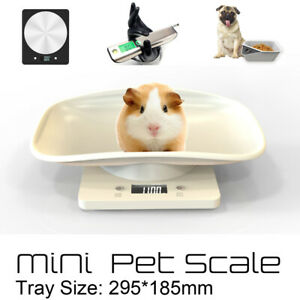 10KG Small Pet Electronic Digital Scale Dog Cat Portable Kitchen Food Scale US