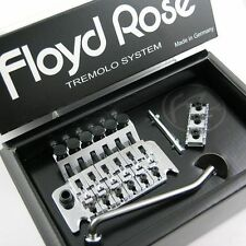 FLOYD ROSE ORIGINAL TREMOLO SYSTEM CHROME W/LOCK NUT R2 OR R3 GERMAN FLOYD