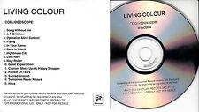 LIVING COLOUR Collideoscope UK 15-trk promo test CD