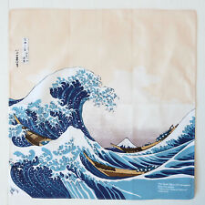 The Great Wave Ukiyoe Japanese Cotton Furoshiki Cloth TB93