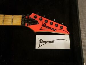 Ibanez Headstock Logo Decal - Pick Your Color(Right or Left Handed for 6 String)