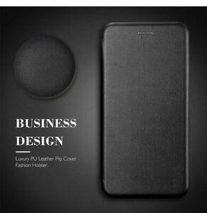 For Samsung Galaxy S8 S9 S10 PLUS Smart Leather Wallet Case Cover