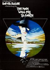 THE MAN WHO FELL TO EARTH VINTAGE MOVIE POSTER FILM A4 A3 ART PRINT CINEMA
