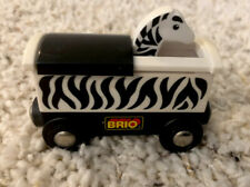 Brio Train Carriage Pop Up Safari Zebra
