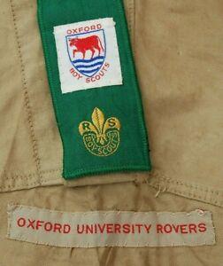 Early Boy Scout - Oxford University Rover Crew - Uniform Shirt