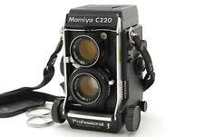 【MINT+++】 Mamiya C220 Pro F TLR Film Camera w/ 105mm f/ 3.5 Lens From Japan
