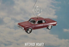 1964 Chevelle Malibu SS Christmas Ornament 1/64 Adorno Chevy Catch Me if You Can