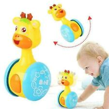 Baby Kids Rattles Tumbler Doll Toys Bell Music Learning Puzzle Toys Develop C4L0