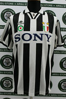 Maglia calcio JUVENTUS DEL PIERO TG M 1995/96 shirt trikot jersey maillot