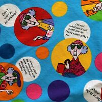 "Maxine Robert Kaufman Fabric Cotton 37.5"" x 42"" Don't Worry Be Crabby D #10360"