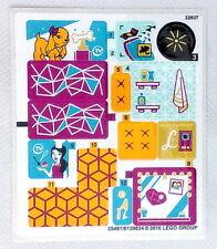 Lego Friends original Aufkleber für Livi's Pop Star House 41135 Neu