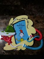 "Dr Seuss "" Do you like green eggs & ham""Picture Photo Frame 3"" x 5"" red blue"