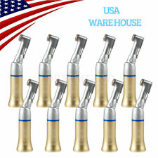 10*US Gold NSK Style Dental Contra Angle Handpiece E-Type Slow Low Speed YBG