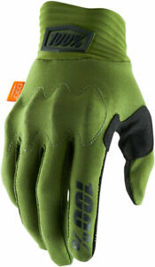 100% MX Motocross COGNITO Gloves (Army Green/Black) Choose Size