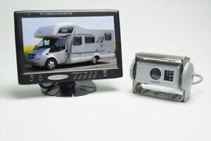 Rückfahrsystem für Wohnmobil und LKW mit AHD Shutterkamera
